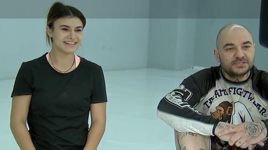Diana Bulimar și Cristian Mitrea, schimb de experiență