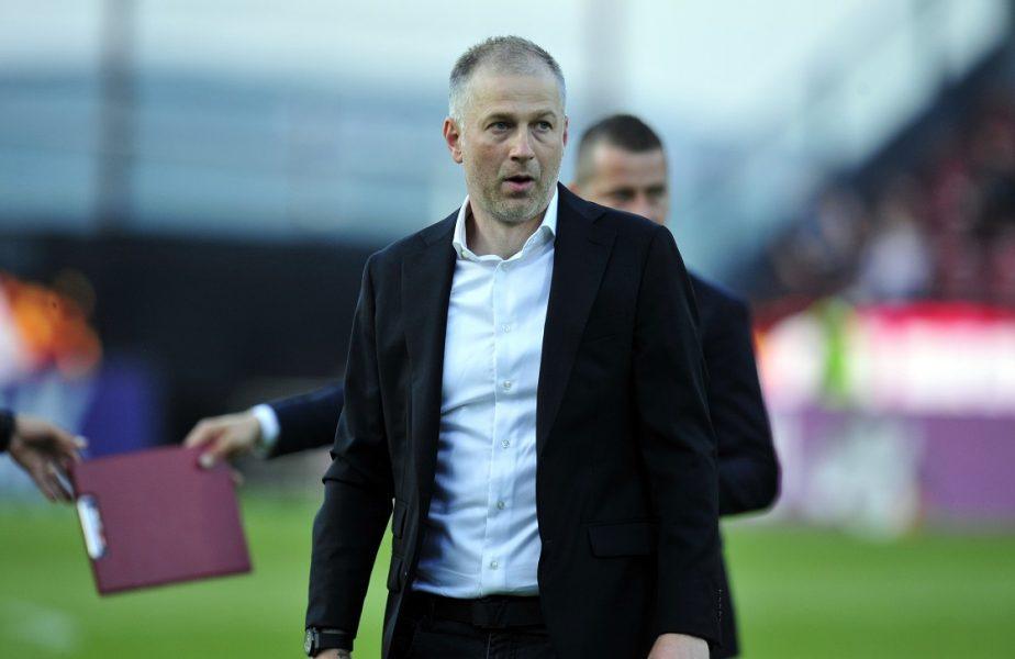 """Edi Iordănescu, primele declaraţii despre divorţul de CFR Cluj. """"Mi-aş fi dorit asta!"""" Mesaj emoţionant pentru jucători"""