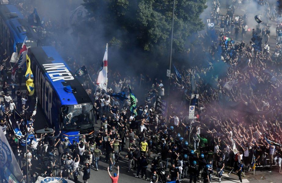 Primire fastuoasa pentru Inter