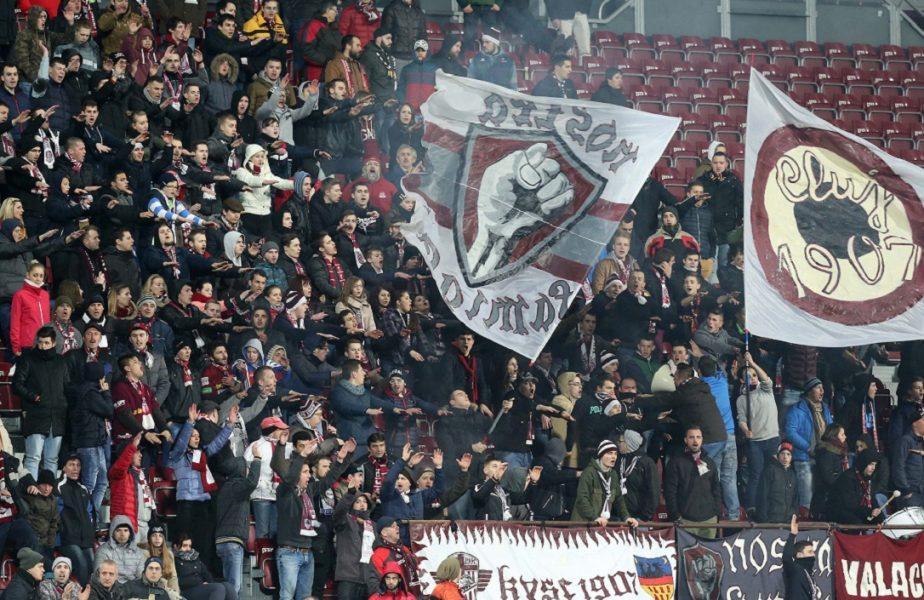 Revin spectatorii în Liga 1! Mii de fani vor asista la derby-ul CFR Cluj – FCSB. Ce măsuri au fost impuse la stadion