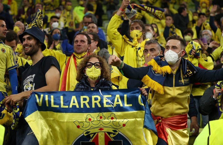 """VIDEO. Sărbătoarea lui Villarreal, după finala nebună din Europa League! Manchester United, ironizată: """"Toţi locuitorii din Villarreal intră pe Old Trafford"""""""