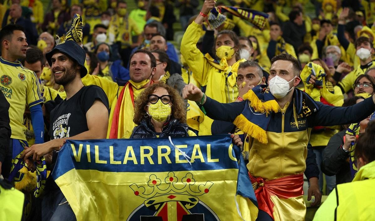 Nebunie la Villarreal după cucerirea Europa League