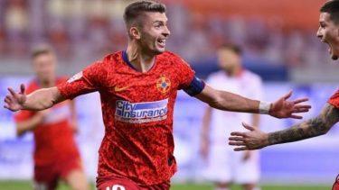 Flroin Tănase, după ce a marcat un gol pentru FCSB