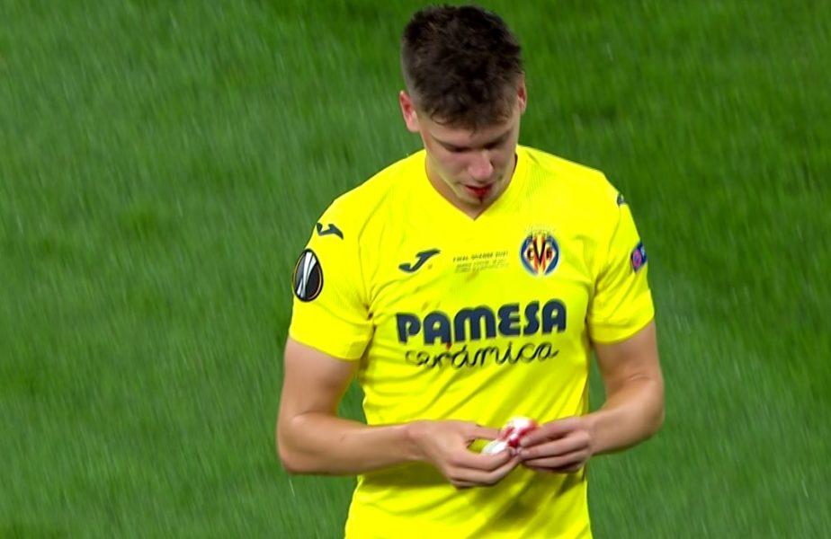 Foyth, lovit în finala Europa League