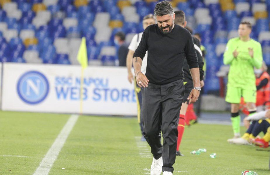 Gennaro Gattuso, demis printr-un mesaj. Ce a scris Aurelio De Laurentiis