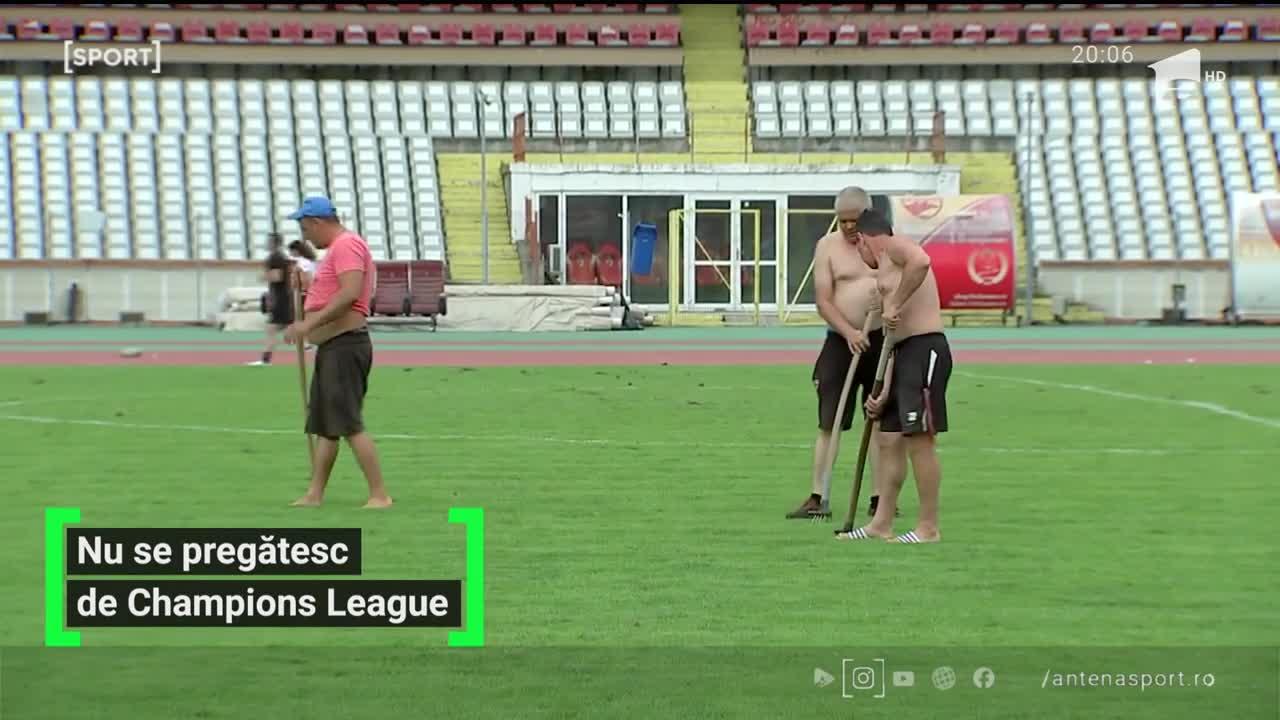 Handbaliștii de la Dinamo nu se pregătesc de Champions League