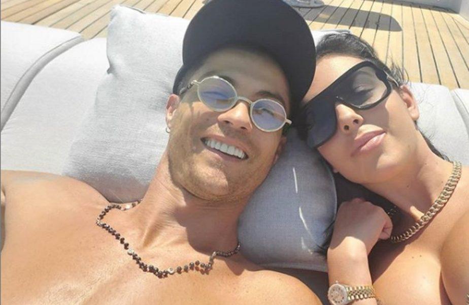 Cristiano Ronaldo si-a luat o zi de concediu