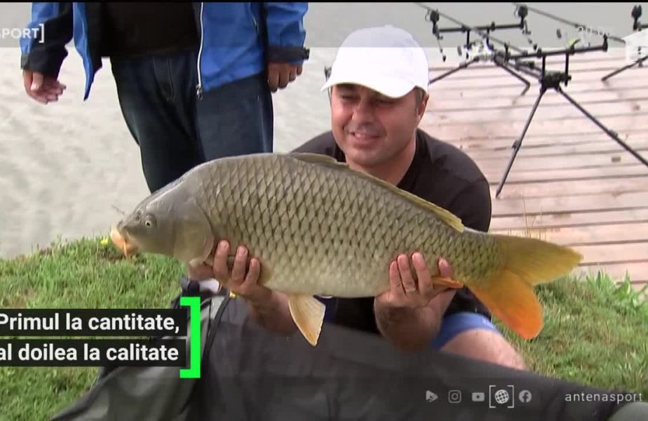 Florentin Petre, maraton de pescuit