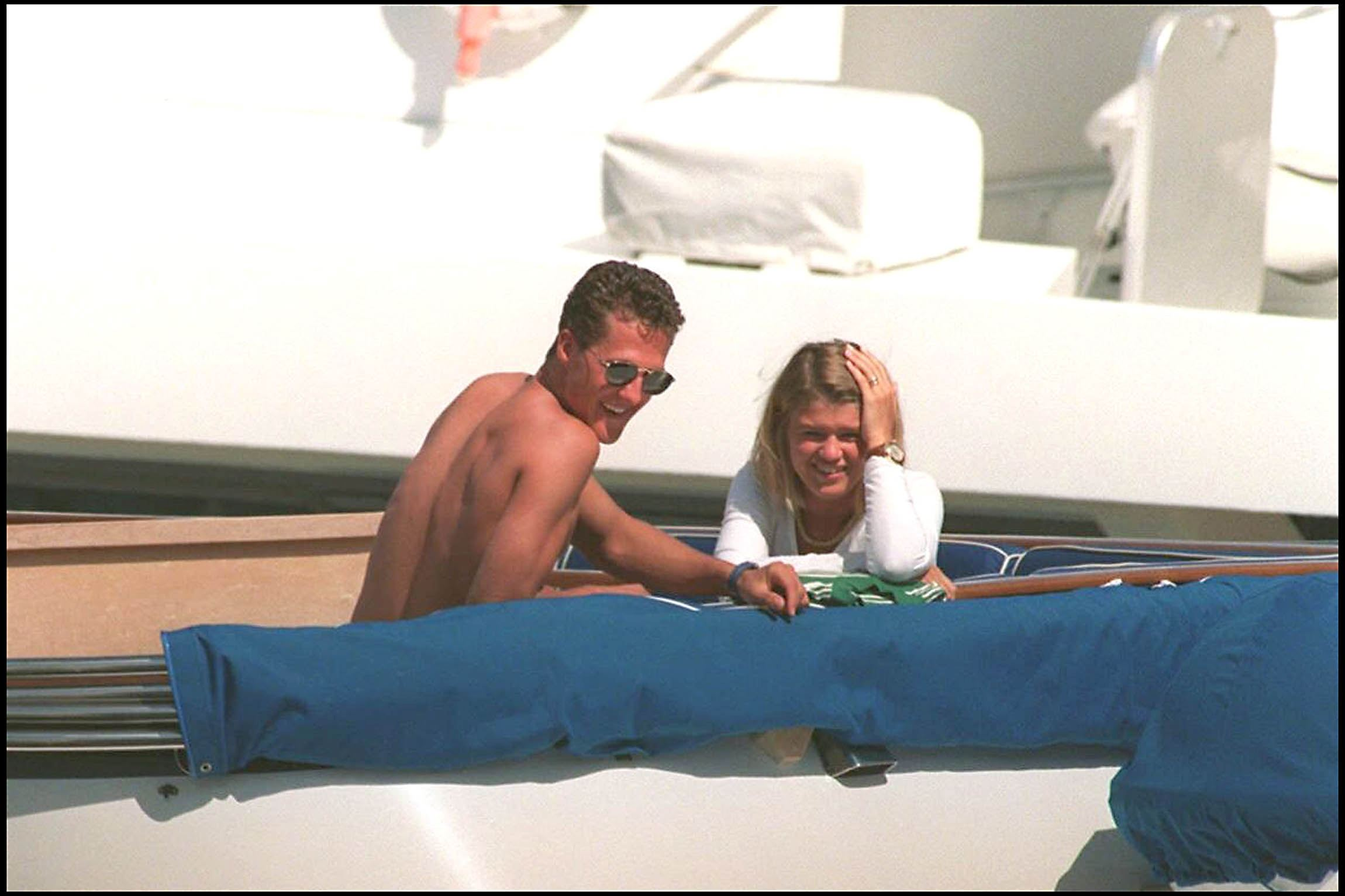 Corinna Schumacher, într-o vacanţă alături de Michael Schumacher