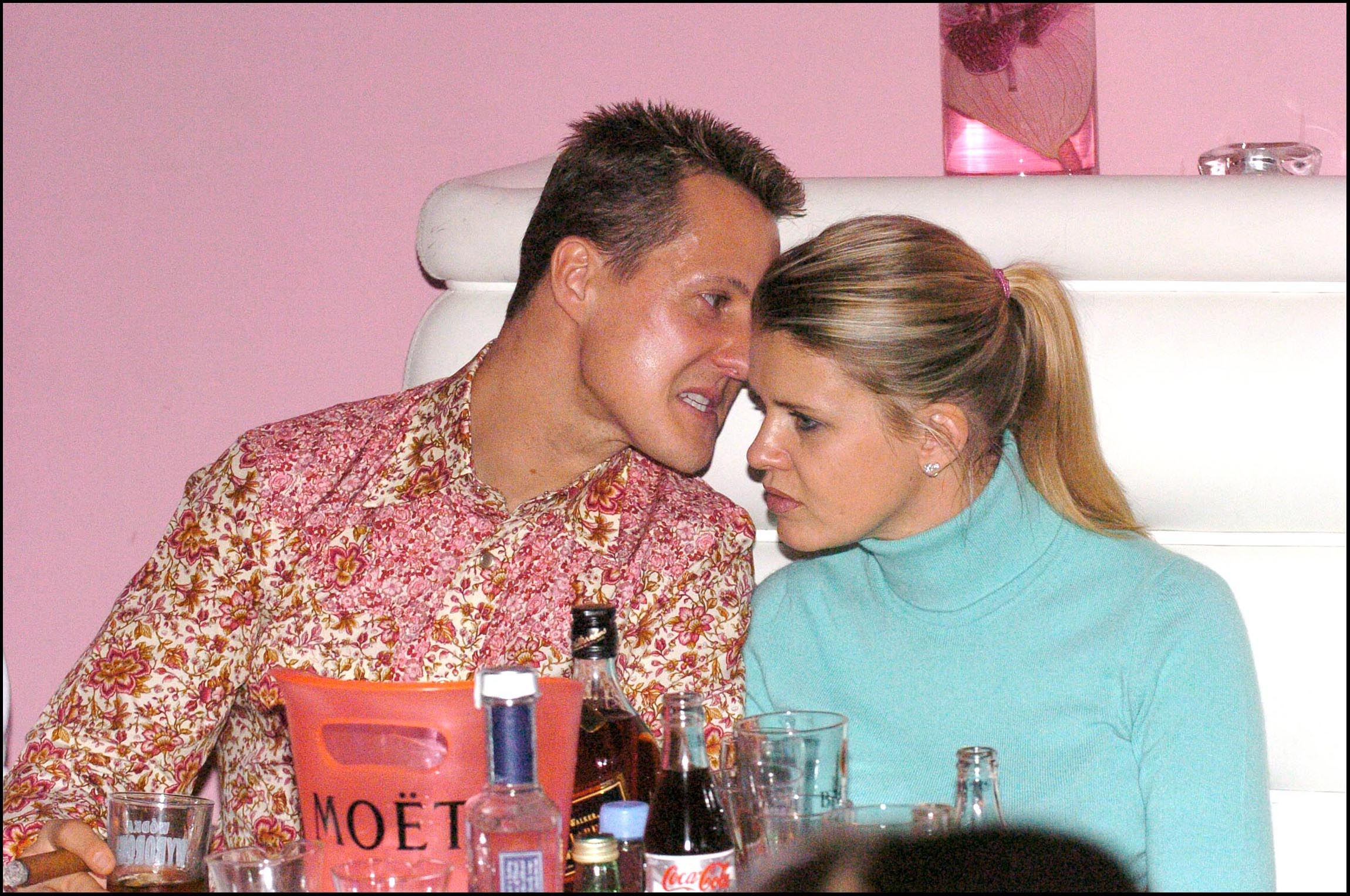 Corinna Schumacher, alături de Michael Schumacher