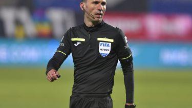 Marcel Bîrsan va arbitra Sepsi - FCSB | Sursa foto: Sport Pictures / Răzvan Păsărică via Hepta