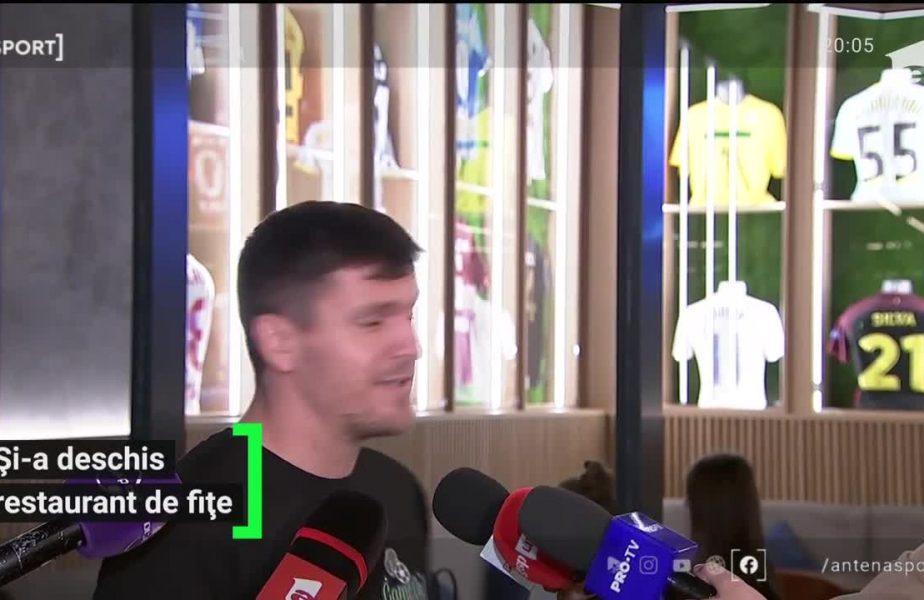 Și-a deschis restaurant de fițe! Alexandru Bourceanu, de la fotbalist la antreprenor. Fostul mijlocaș a fost susținut de nașa Anamaria Prodan