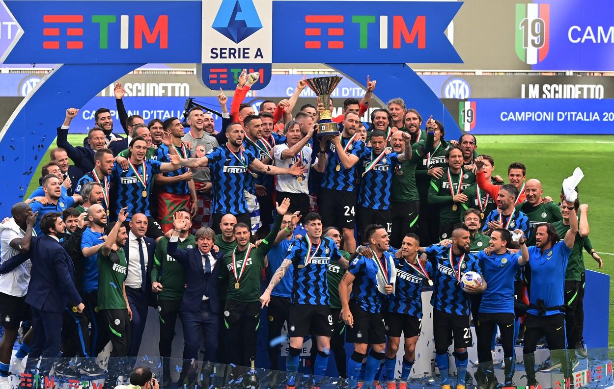 Inter, campioana Italiei