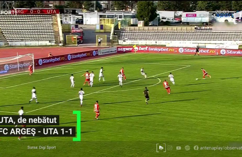 FC Argeș – UTA 1-1