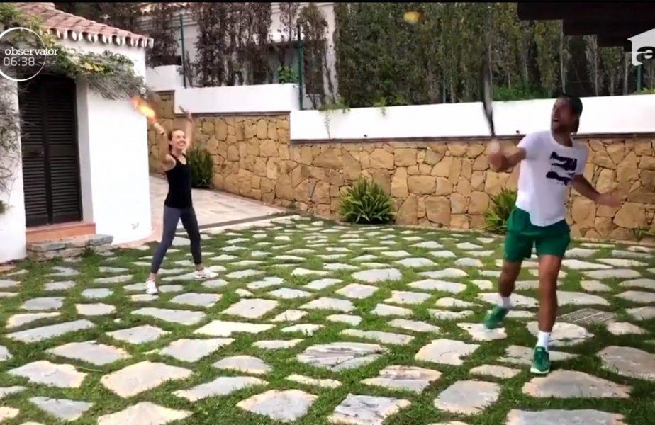 Tenisul se mai joacă doar cu soția sau iubita! Djokovic a răspuns provocării lansate de Murray