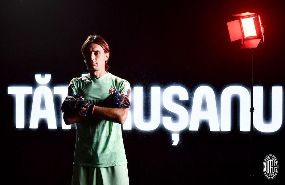 Tatarusanu va căștiga 3,6 milioane de euro în trei ani la Milan