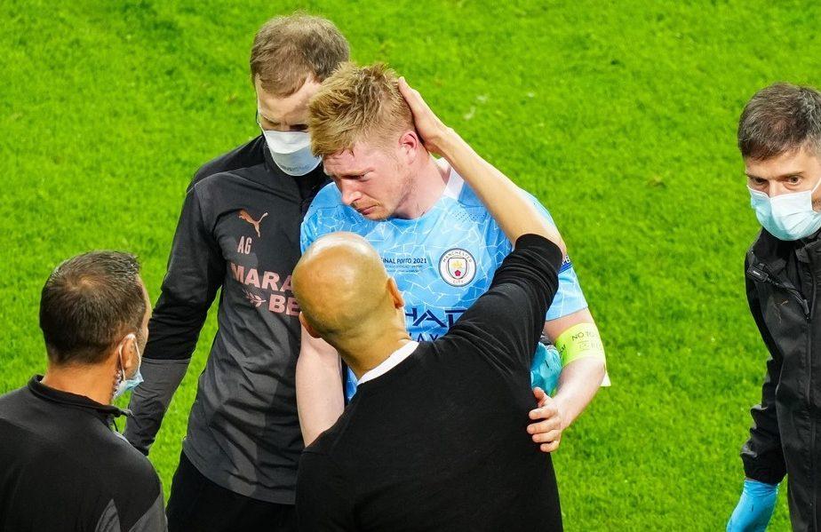 Rudiger l-a sunat pe De Bruyne după accidentarea oribilă din finala Champions League. Ce i-a spus starului lui City