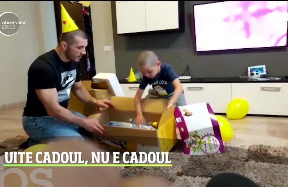 McGregor de România l-a serbat pe fiul cel mare cu o farsă