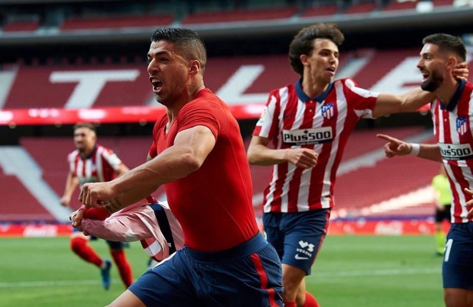"""Luis Suarez, fabulos în Atletico Madrid – Osasuna 2-1. """"Nu meritam să suferim atât!"""". Uruguayanul a înscris un gol cât un titlu! Messi şi Barcelona, OUT din cursa pentru titlu"""