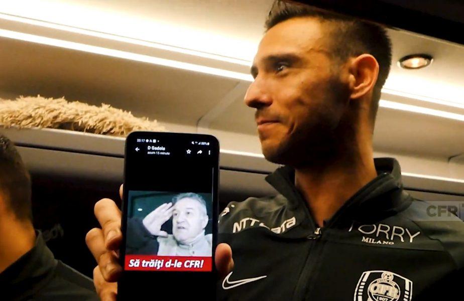 VIDEO | Mario Camora l-a ironizat pe Gigi Becali după ce CFR Cluj a câştigat titlul. Imagini fabuloase!