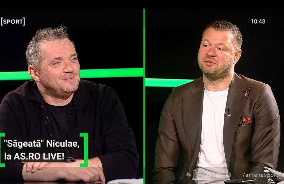 "EXCLUSIV AS.ro LIVE | Marius Niculae, povești geniale cu Ronaldo: ""Nu sunt legende, am văzut cu ochii mei!"""