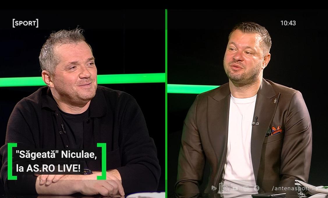 Marius Niculae a fost invitat la AS.ro LIVE