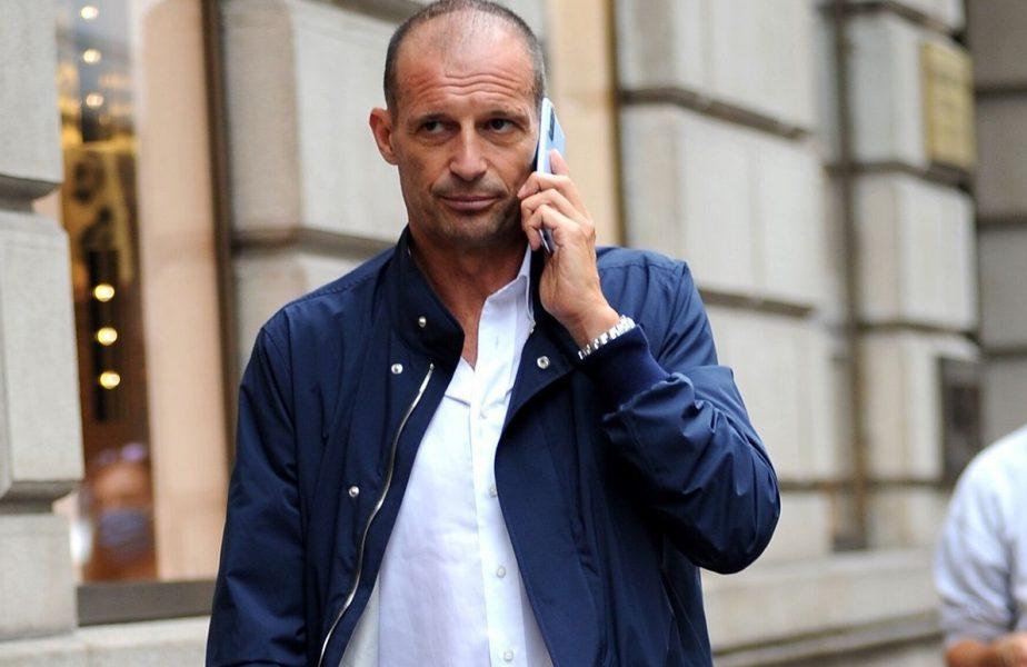 Massimiliano Allegri va fi noul antrenor al Juventus:
