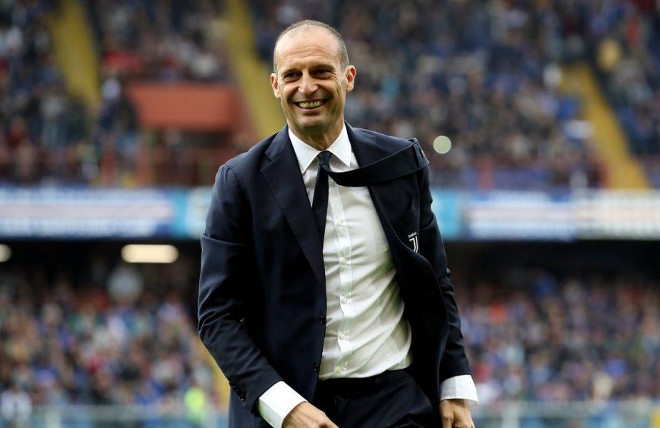 Massimiliano Allegri, noul antrenor al lui Juventus
