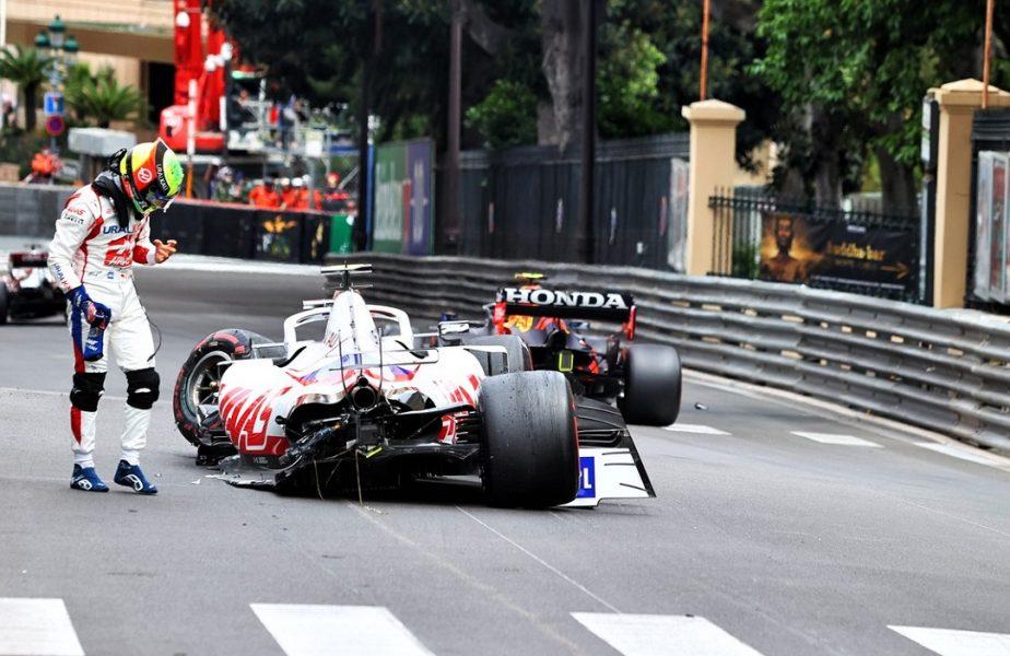 Mick Schumacher și-a distrus monopostul la Monaco! Sperietură uriașă pentru fiul fostului campion din Formula 1