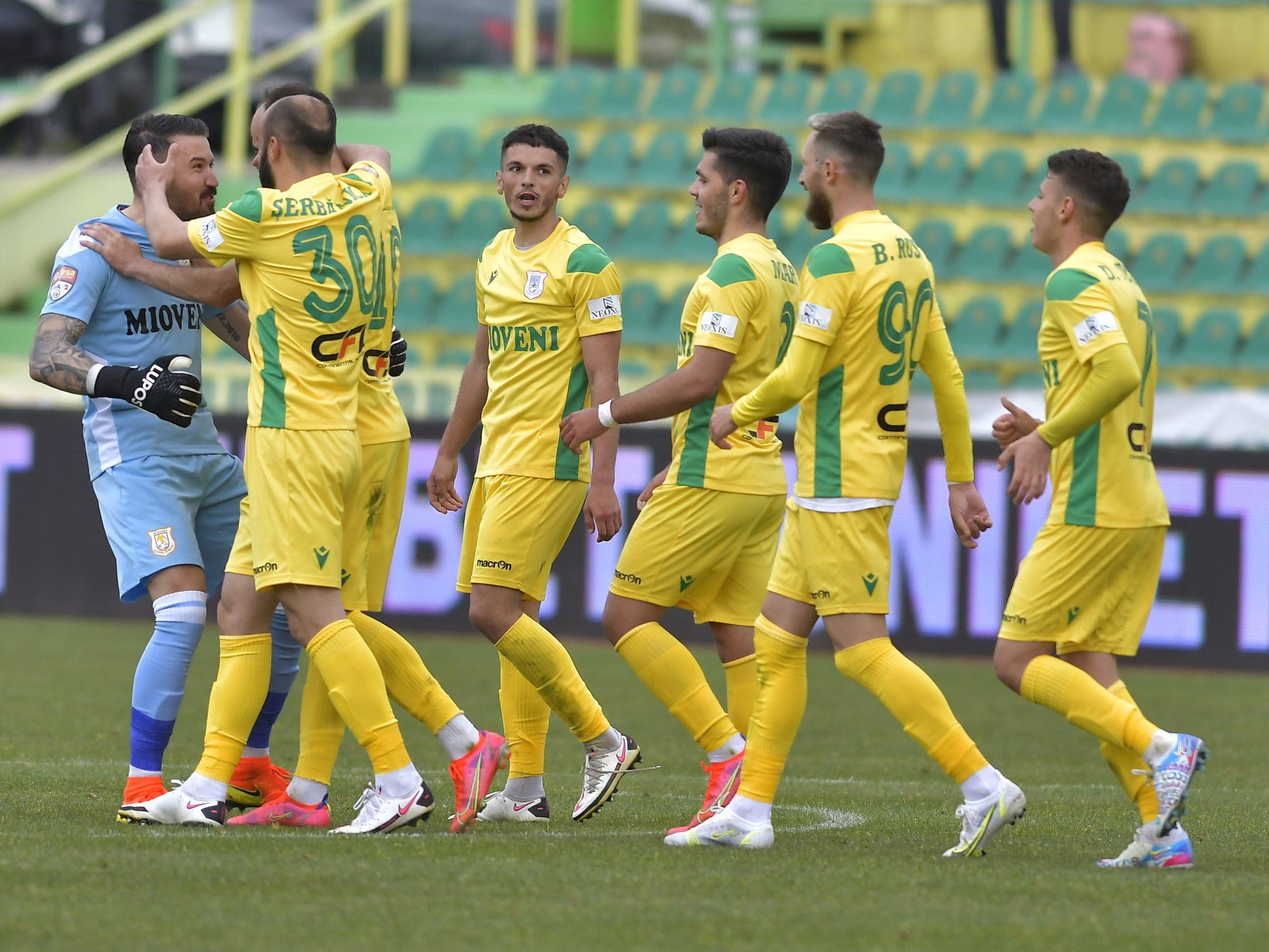 CS Mioveni va juca în barajul pentru Liga 1