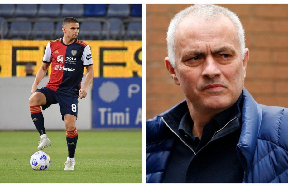 Răzvan Marin, implicat într-o afacere uriașă! Cagliari, AS Roma și Ajax pregătesc lovitura verii. Totul depinde de Jose Mourinho