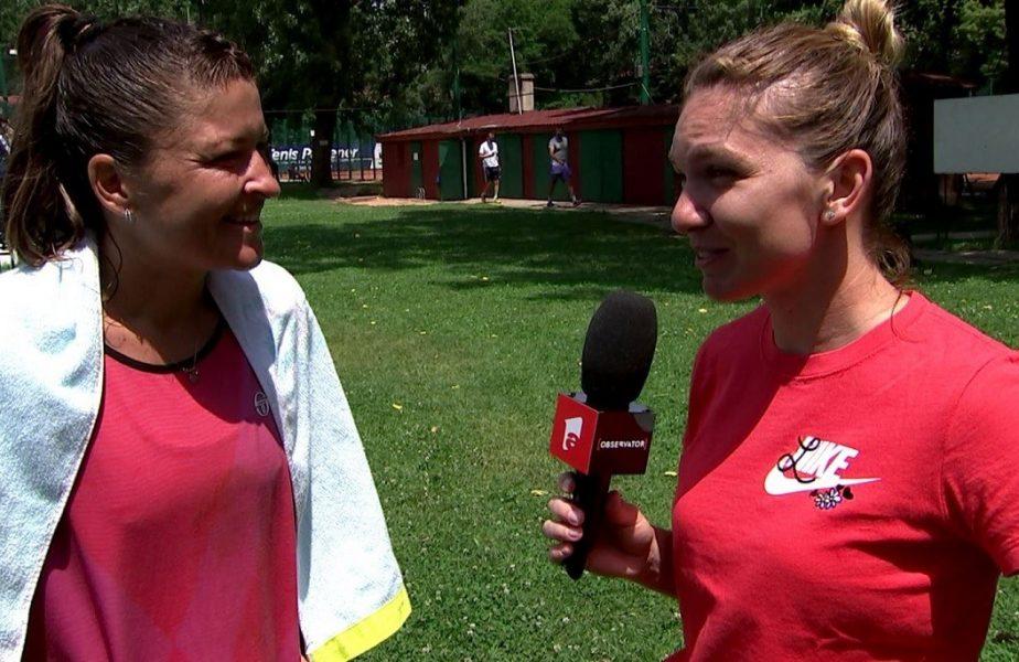 EXCLUSIV   Simona Halep, așa cum nu ai mai văzut-o! A lăsat racheta de tenis pentru microfon. Cum s-a descurcat și ce obiective are pe viitor