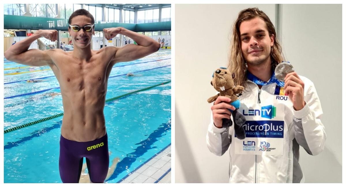 România face senzație la natație