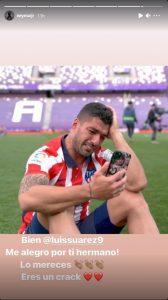 Neymar, mesaj fabulos pentru Luis Suarez