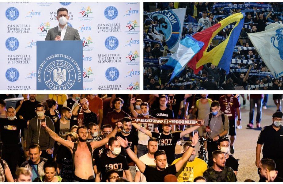 EXCLUSIV | Eduard Novak a anunţat condiţiile în care fanii pot reveni la meciurile din Liga 1. Cum se va intra pe stadioane şi de ce Universitatea Craiova – CFR Cluj se dispută fără spectatori!