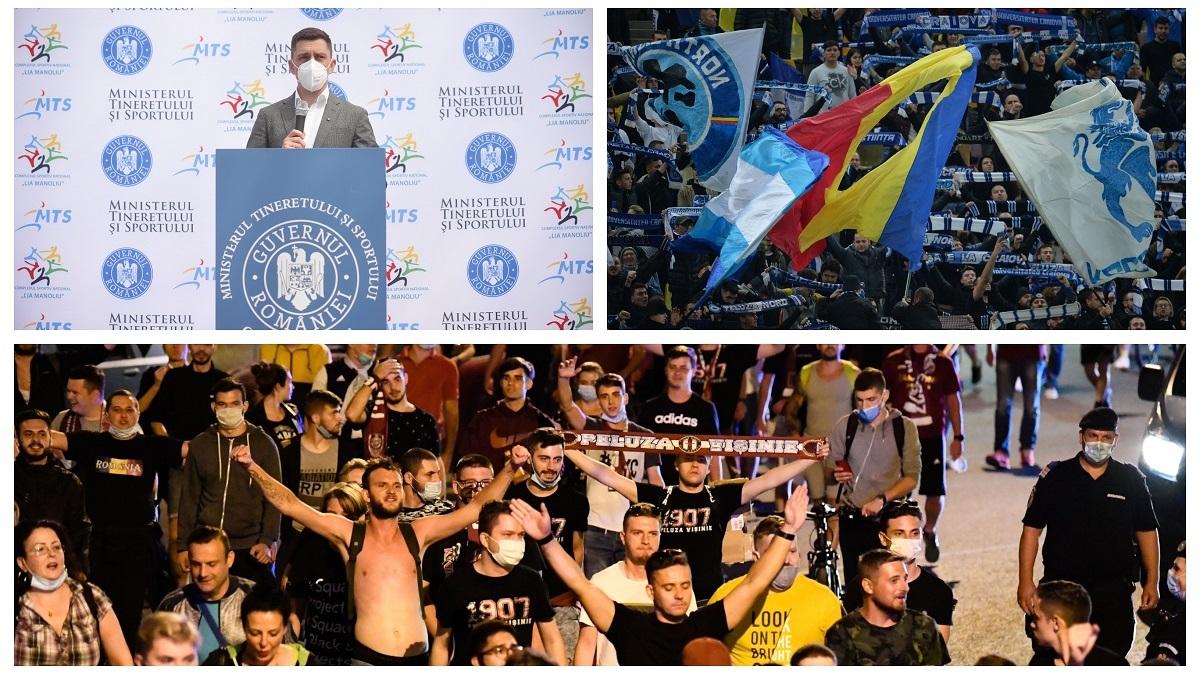 Eduard Novak a anunţat când revin fanii la meciurile din România