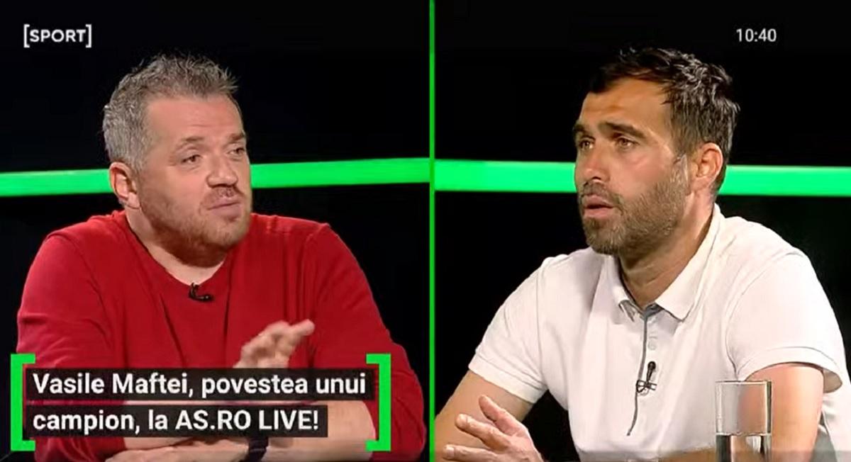 Vasile Maftei la Rapid?