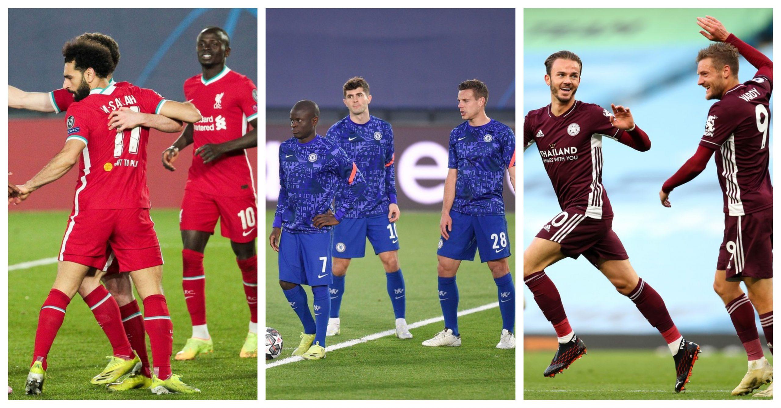 Liverpool, Chelsea și Leicester