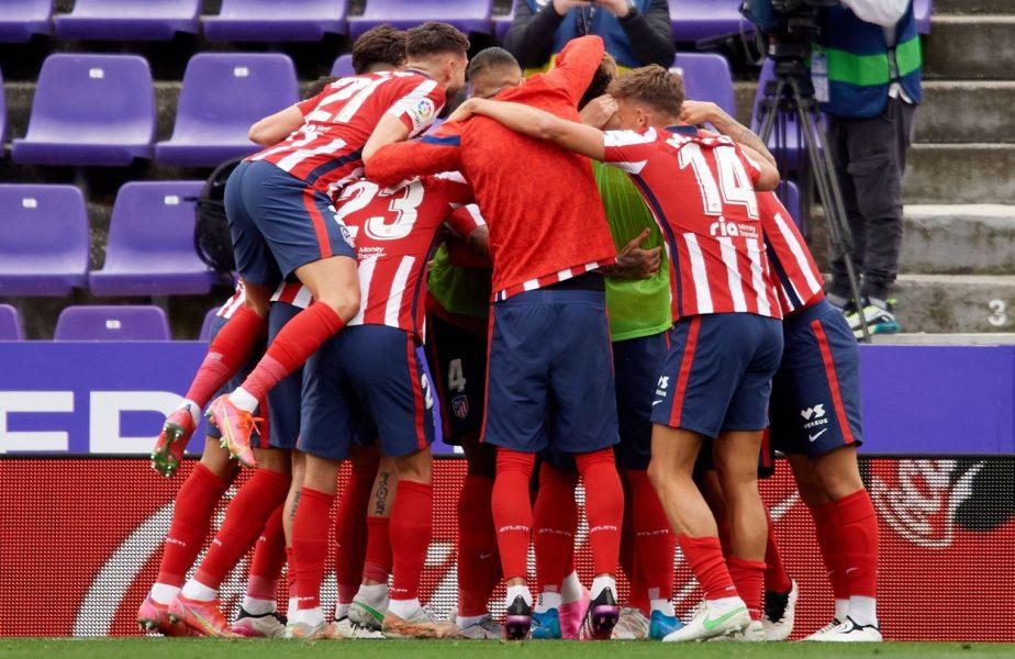 S-a decis campioana Spaniei, după Real Madrid – Villarreal 2-1 și Valladolid – Atletico Madrid 1-2! Echipa lui Diego Simeone, primul titlu după 7 ani