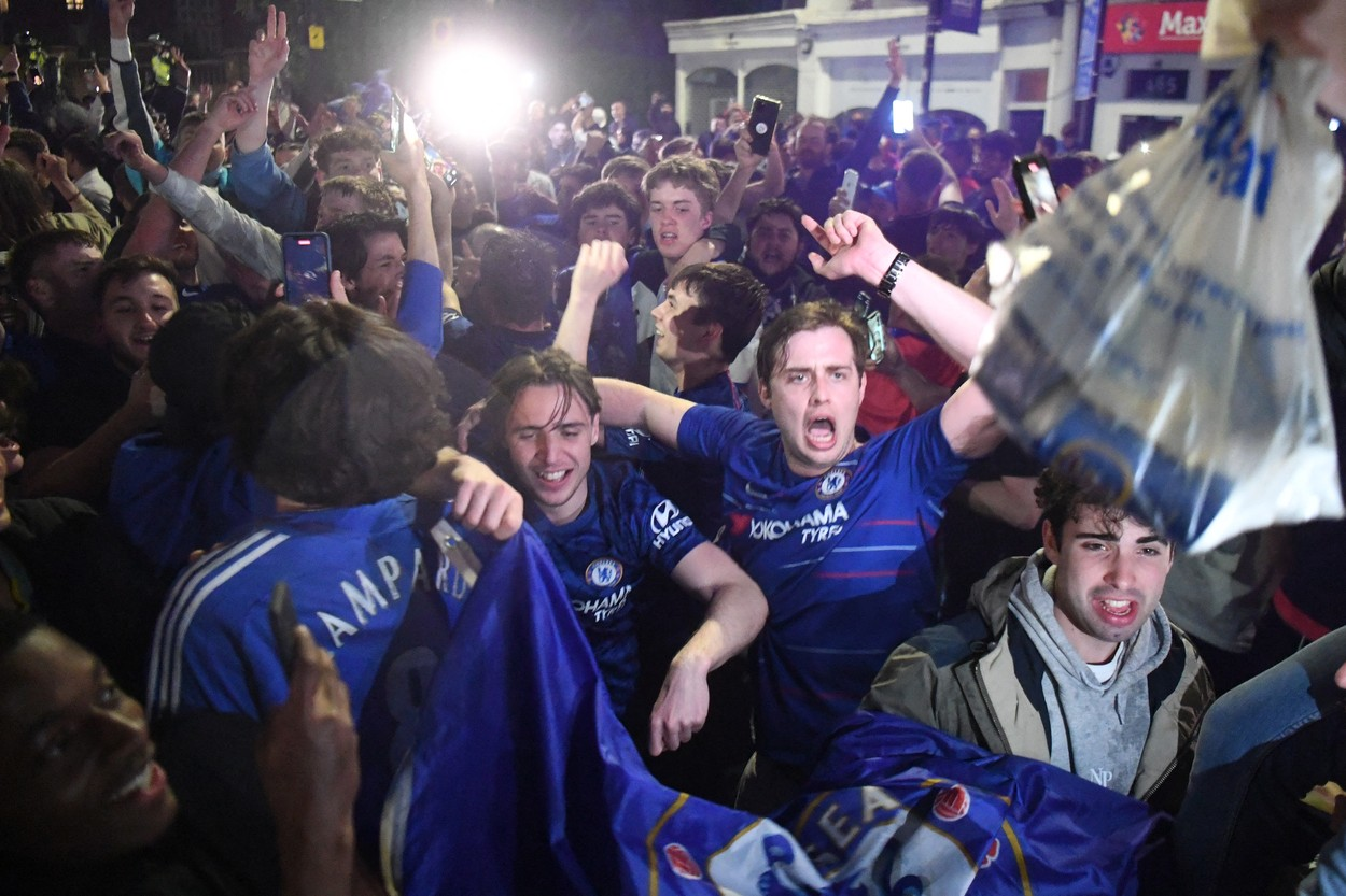 Manchester City - Chelsea 0-1 | Imaginile bucuriei cu campionii Europei / Sursa: Profimedia