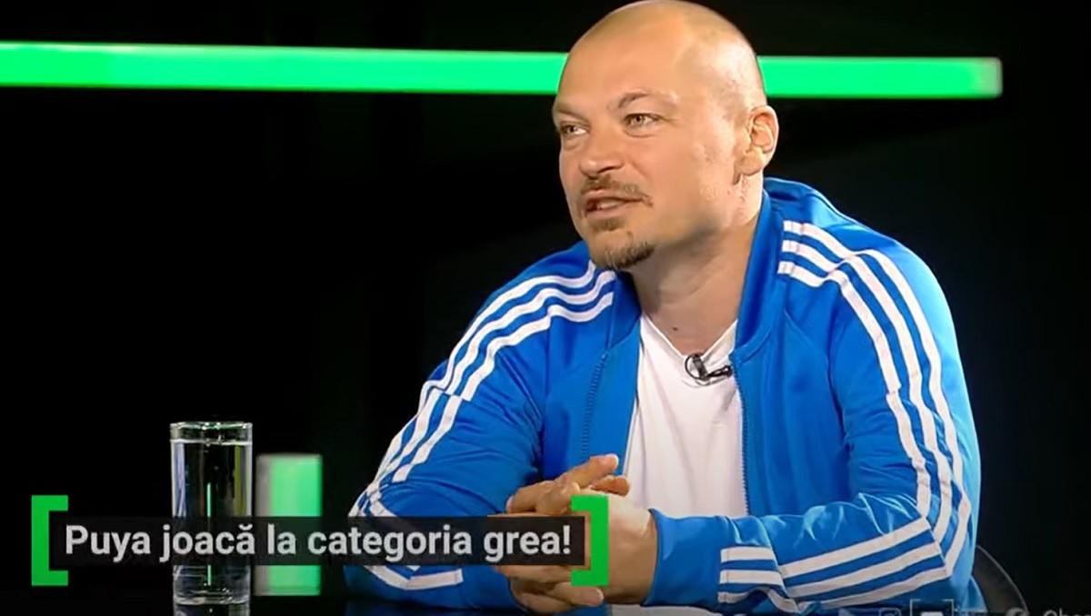 """EXCLUSIV AS.ro LIVE   Puya, cursă pe străzile din Bucureşti. """"Mi s-a defectat scuterul!"""" De ce îi invidia pe fotbalişti şi cum a ajuns să se pretindă impresar"""