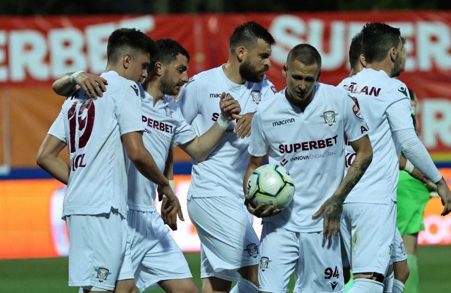 Rapid – ASU Poli Timișoara 1-0. Victorie uriașă pentru giuleșteni! Echipa lui Mihai Iosif, cu un pas și jumătate în Liga 1