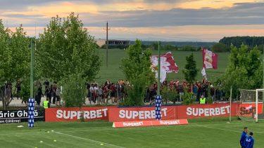 Fanii Rapidului sărbătoresc promovarea în Liga 1