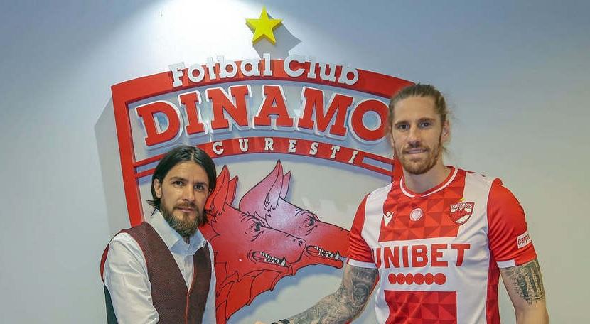 """Prima plecare de la Dinamo! Jucătorul a făcut anunţul oficial. """"Mă bucur că am lăsat echipa în Liga 1"""""""