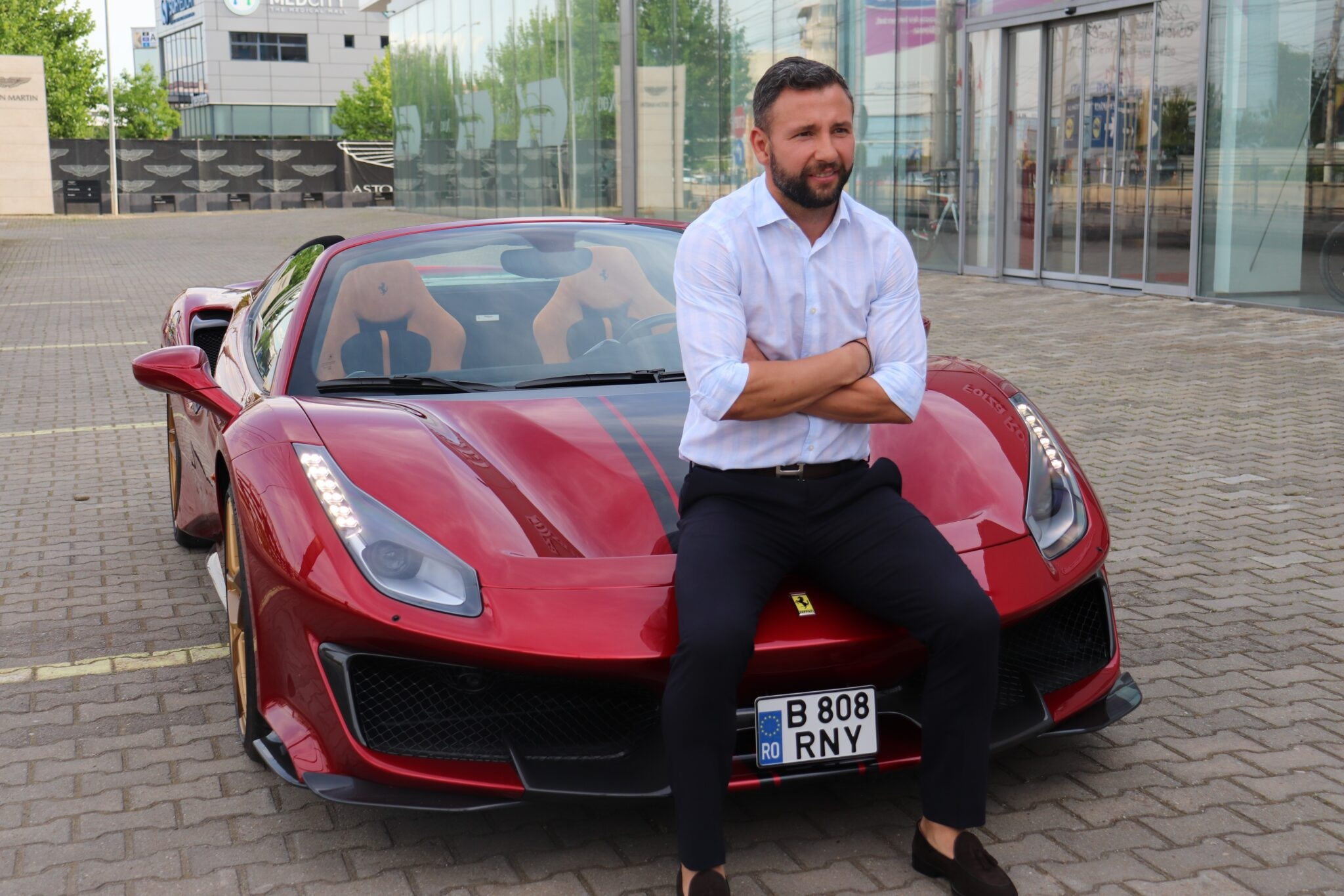 Răzvan Raţ împlineşte 40 de ani şi şi-a făcut singur un cadou exclusivist / Sursa: sportm.ro