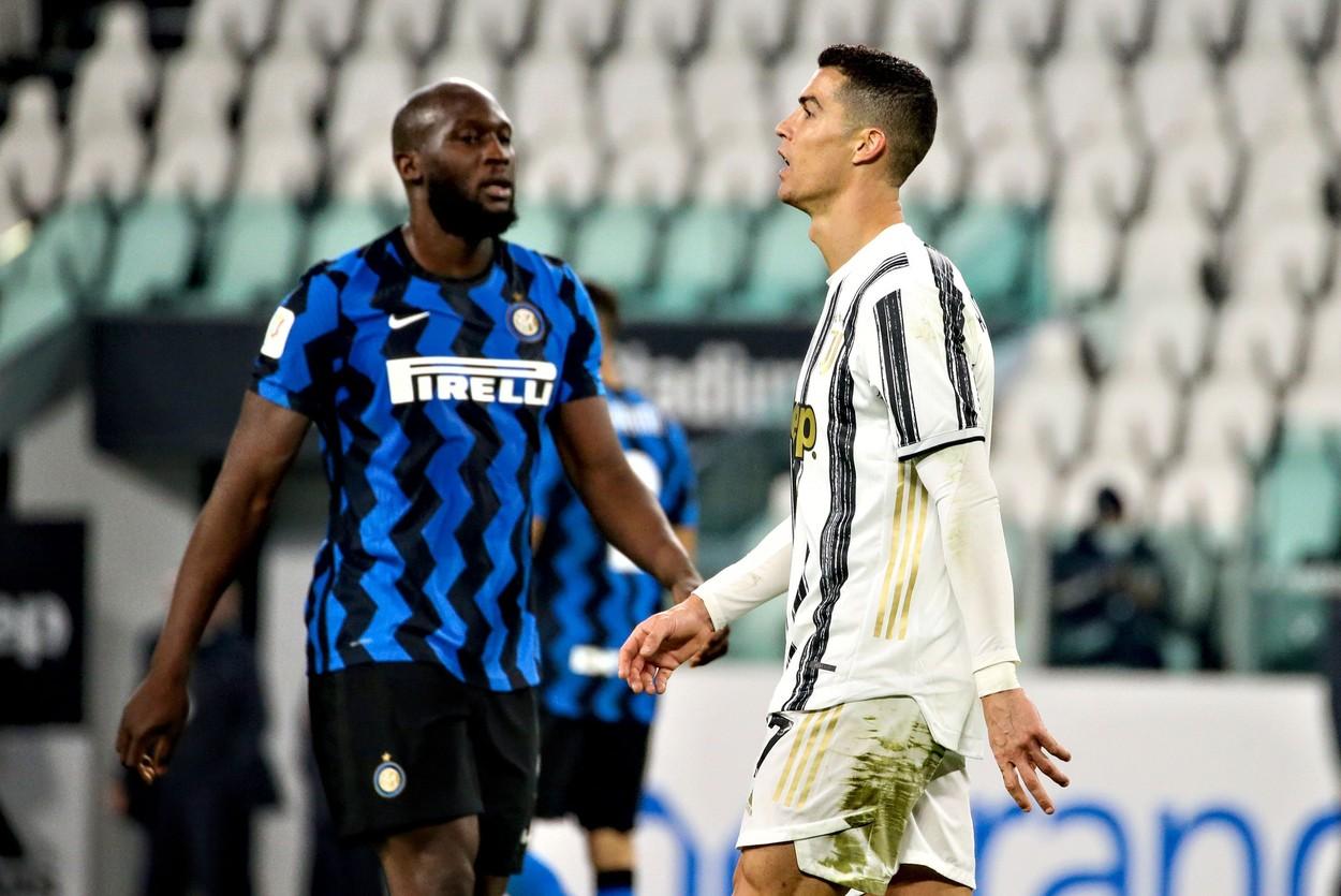Romelu Lukaku i-a luat faţa lui Cristiano Ronaldo! Golgheterul lui Inter, fotbalistul anului în Italia. Ce premiu a luat portughezul