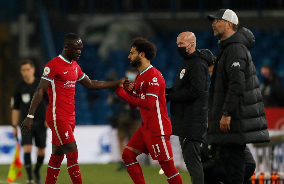 Incident incredibil cu Mane şi Klopp! Senegalezul l-a lăsat cu mâna întinsă pe managerul lui Liverpool după victoria uriaşă de pe Old Trafford