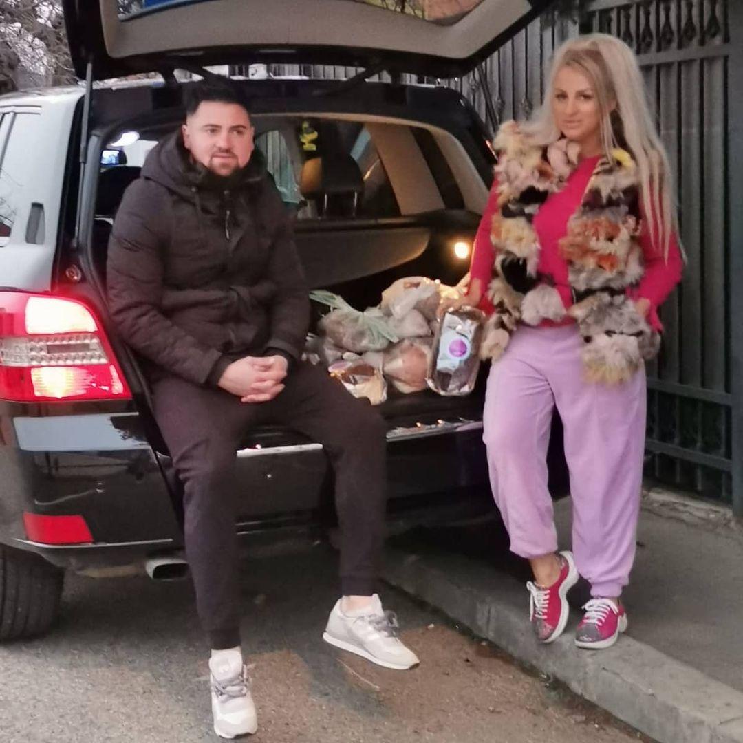 Sânziana Buruiană, alături de Nicolae Zuluf / Facebook