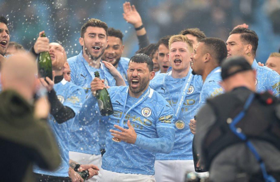 """Sergio Aguero a scris istorie în Premier League pentru Manchester City! """"Sunt atât de fericit!"""" Atacantul a reuşit o """"dublă"""" de senzaţie şi a bătut recordul lui Wayne Rooney"""