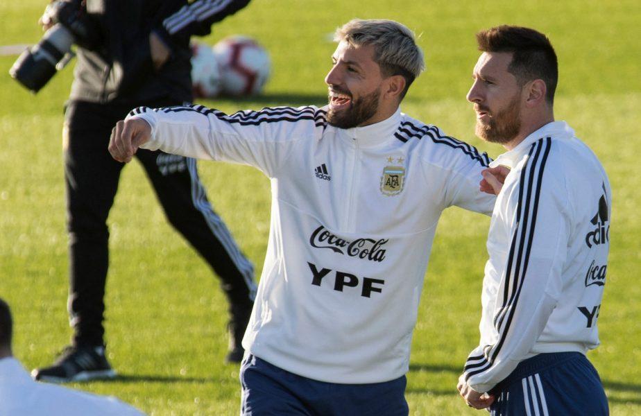 """Sergio Aguero, prima reacţie după ce a semnat cu FC Barcelona: """"Este cea mai bună echipă din lume! Un pas mare în carieră!"""""""